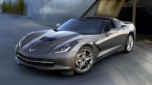 2016 Corvette in Shark Gray Metallic