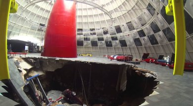 Sinkhole Exhibit Set to Open at National Corvette Museum