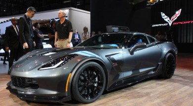 2017 Corvette Tech Center