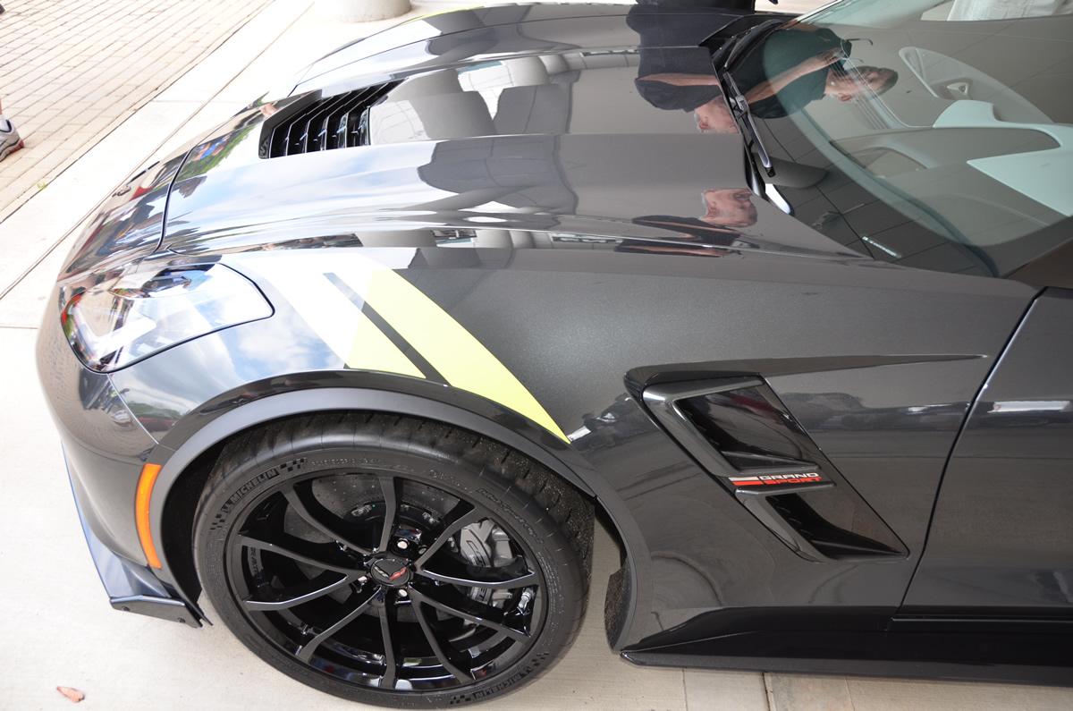 2017 Corvette Grand Sport Heritage Package in Watkins Glen Gray Metallic
