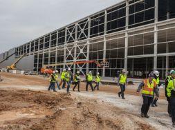 Bowling Green Corvette Assembly Plant Paint Shop Construction