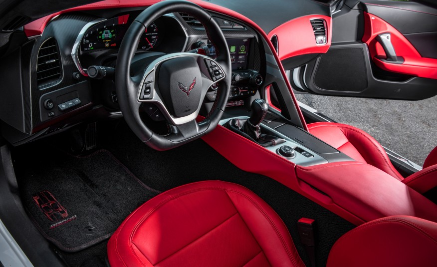 Car and Driver Road Tests a Manual Equipped 2017 Corvette ...