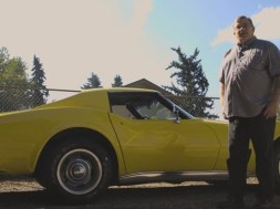 Tom Nali with his 1976 Corvette