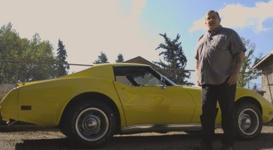 Tom Nali with his 1976 Corvette