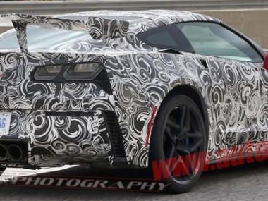 2018 Corvette ZR1 Test Mules Take a Bow for the Camera