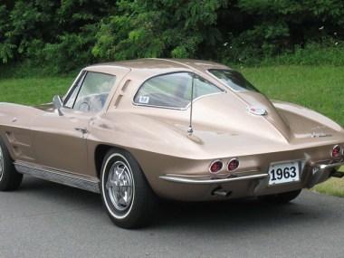 1963 Corvette Split Window Coupe in Saddle Tan