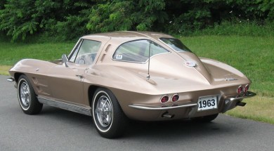 1963 Corvette Split Window Coupe in Saddle Tan