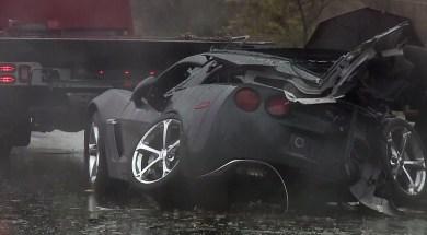 2013 Corvette Crashes Into Tree Killing Driver in California