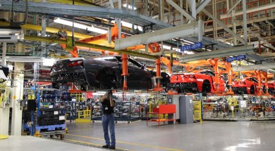 Corvette Assembly Plant in Bowling Green, Kentucky.  Photo – Motor Trend Magazine