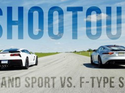 [VIDEO] 2017 C7 Corvette Grand Sport Goes Up Against the Jaguar F-Type SVR