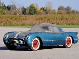 1955 Corvette Rescued by Retired GM Engineer After 38 Years in a Barn