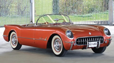 1955 Copper Corvette