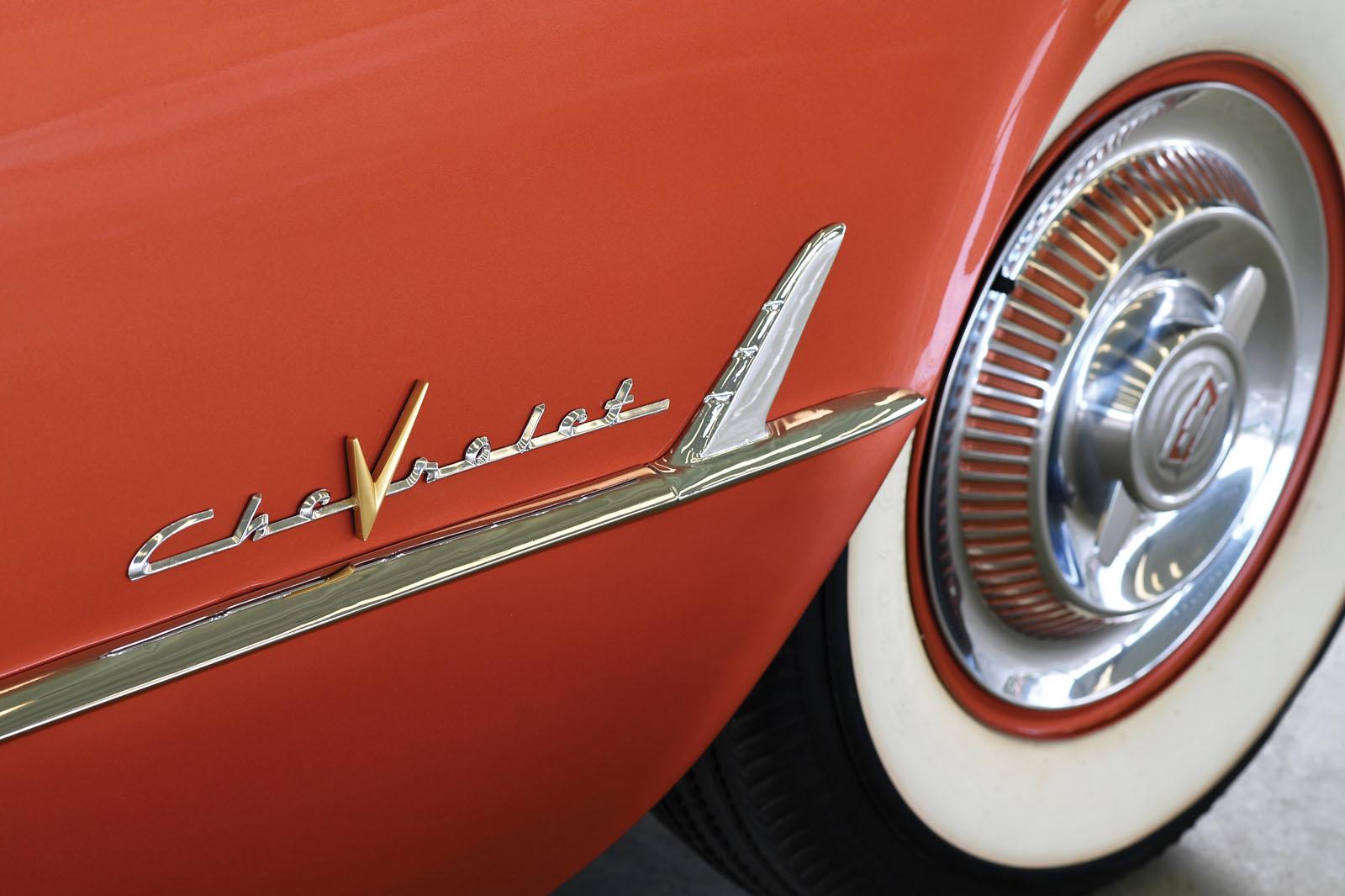 1955 Copper Corvette