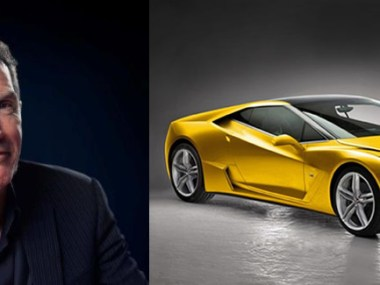 GM's Global Design Chief Mike Simcoe and the C8 Corvette Concept