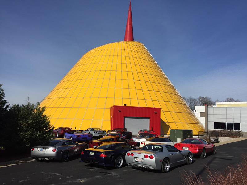Callaway Corvettes at the National Corvette Museum