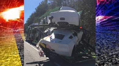 Crash near Verbena, Alabama causes delays, damages Corvettes