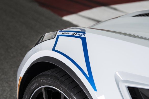 The Carbon 65 Edition features special graphics on the doors and front fenders.