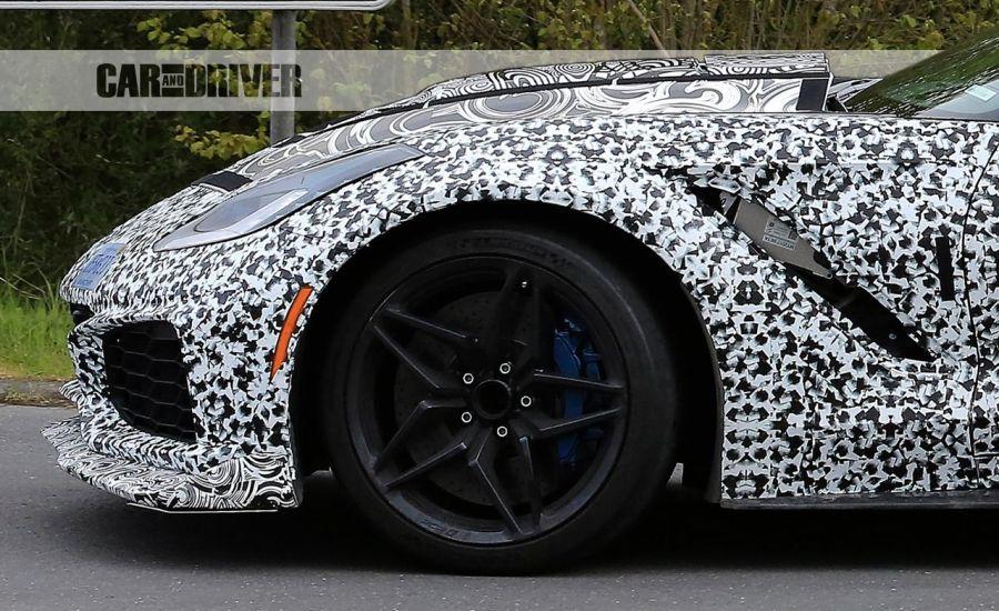 2018 Corvette ZR1 Wheel with ZR1 Logo