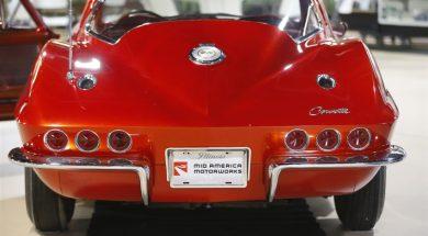 The 1964 Corvette donated to the Pierce-Arrow Buffalo Transportation Museum. (Mark Mulville/Buffalo News)