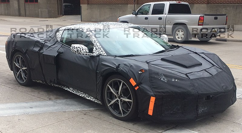Mid-Engine Corvette is Being Benchmarked Against the Porsche 911 Turbo S