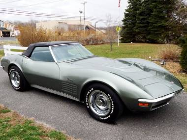 1971 Corvette ZR1 Convertible – 1 of 1