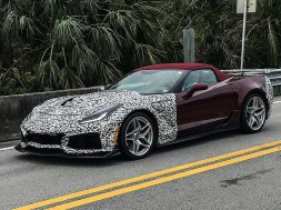 2019 Corvette ZR1 Prototype – Florida Everglades