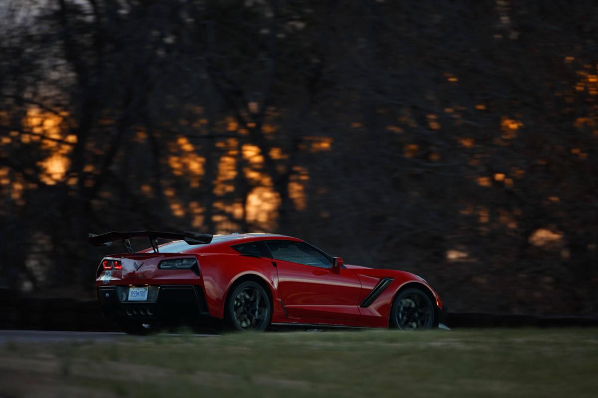 2019 Chevrolet Corvette ZR1 – VIR lap record holder on Grand Course West. (Richard Prince/Chevrolet photo)
