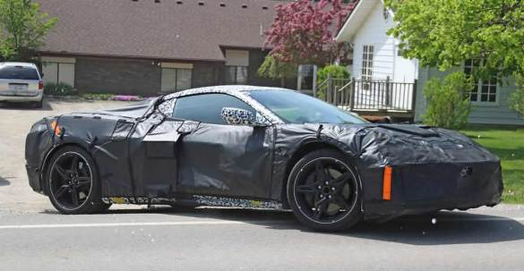 2020 Mid-Engine Corvette Prototype