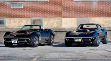 The 1969 L88 Corvette Offering -Two Tuxedo Black L88s Sold as a Pair by Mecum