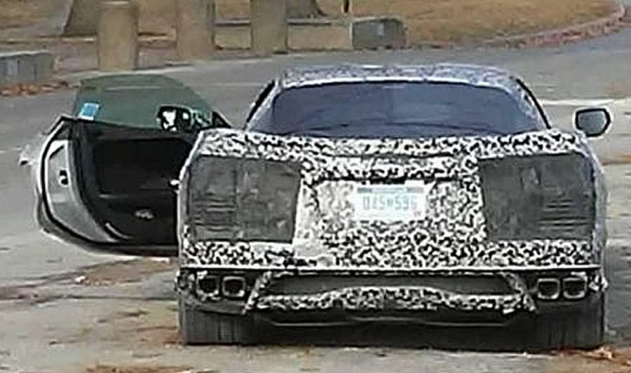 2020 Mid Engine C8 Corvette Door Panel