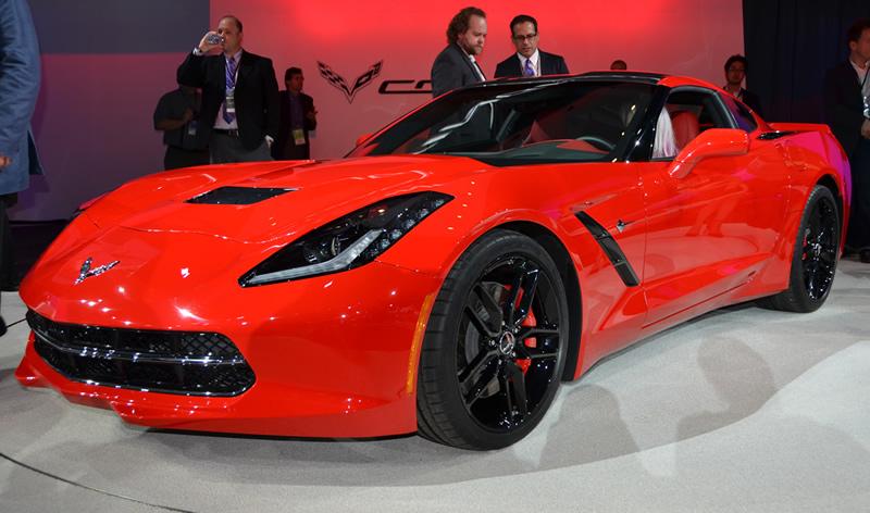 2014 Corvette Stingray at the NAIAS | Image: Author