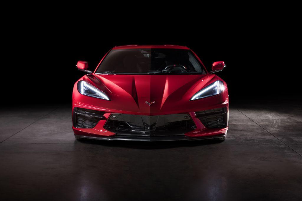 2020 C8 Corvette - Front View