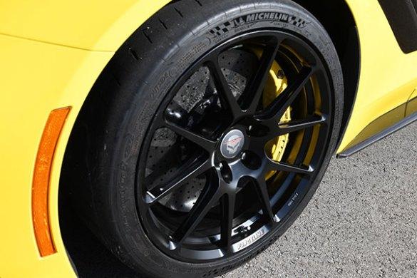 Forgeline Wheels on a 2019 Corvette ZR1