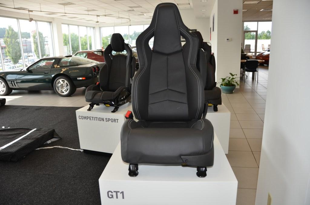 2020 C8 Corvette GT1 Seat