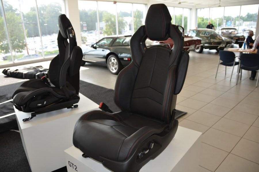 2020 C8 Corvette GT2 Seat