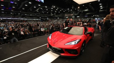 Detroit Children's Fund to Receive $3 Million From Auction of Chevrolet Corvette Stingray VIN #0001