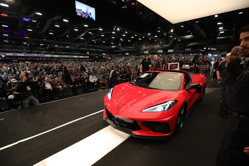 Detroit Children's Fund to Receive $3 Million From Auction of Chevrolet Corvette Stingray VIN #0001