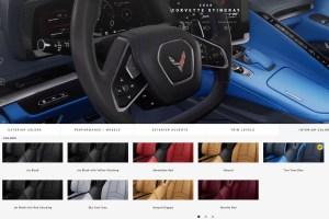 2020 Corvette Interior Color Choices