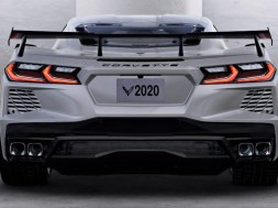 2020 Corvette Stingray Coupe with High Wing Spoiler Option