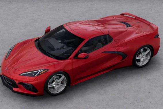 2021 Corvette Stingray in Red Mist Metallic Tintcoat