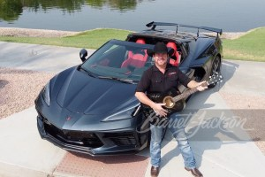 Representatives of the HeartStrings Foundation couldn't contain their excitement when a 2020 Chevrolet Corvette sold for $370,000 to benefit the organization.