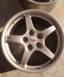 C5 Corvette Magnesium Wheels