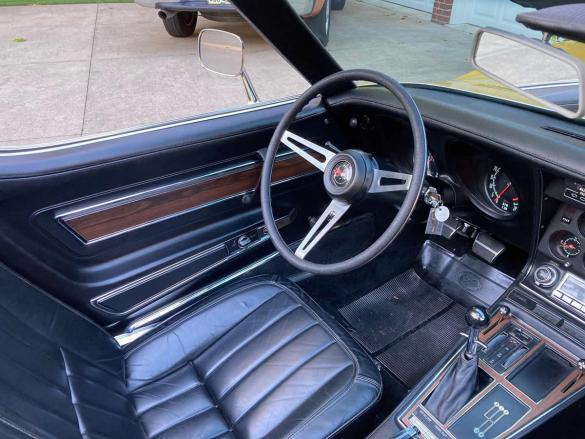 1971 Corvette - War Bonnet Yellow