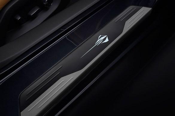 2021 Corvette Stingray Illuminated Door Sill Plate