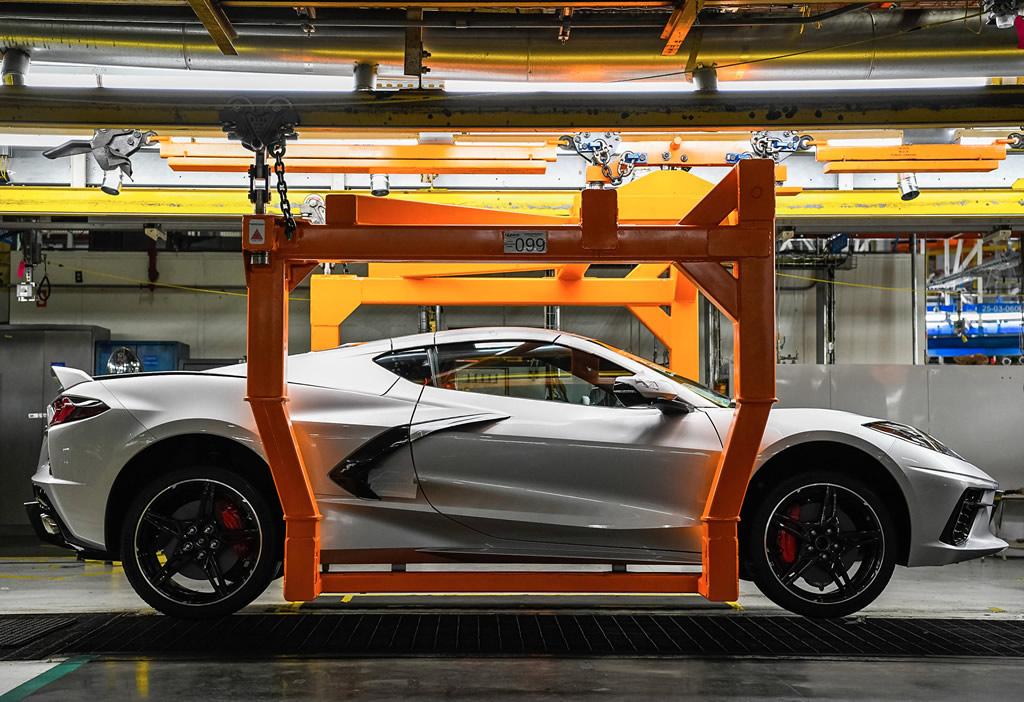 2020 Corvette - Bowling Green Corvette Assembly