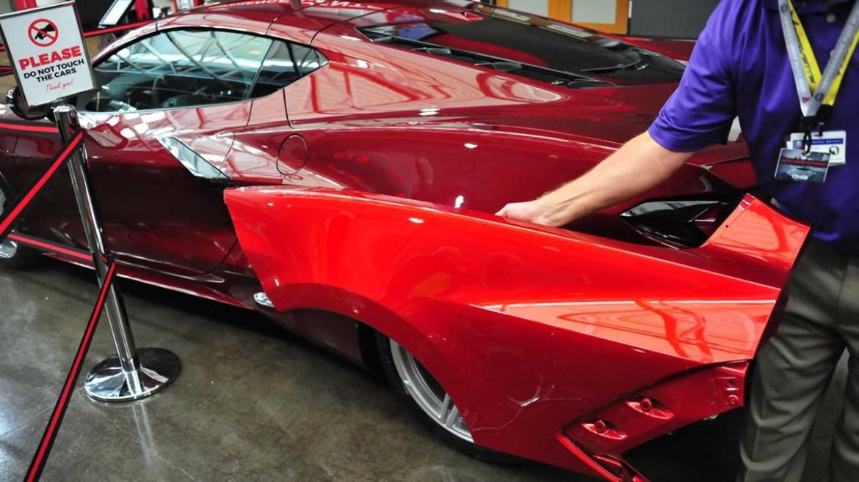 2021 Corvette - Red Mist Tintcoat Metallic