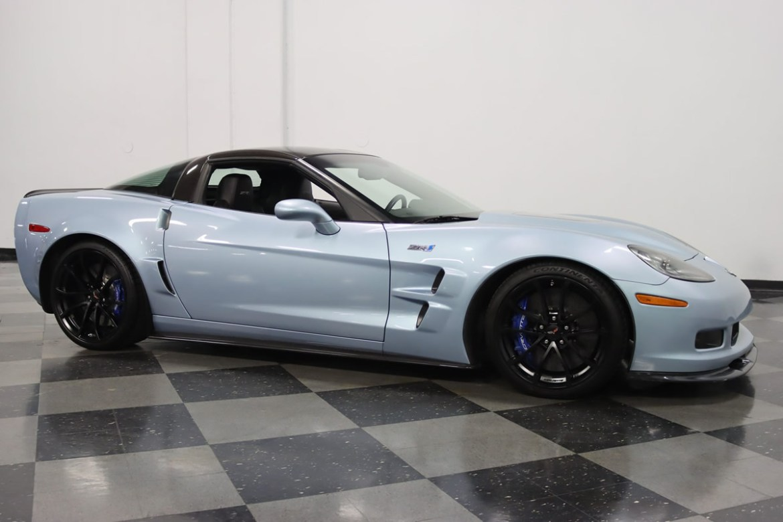 2012 Corvette ZR1 in Carlisle Blue Metallic