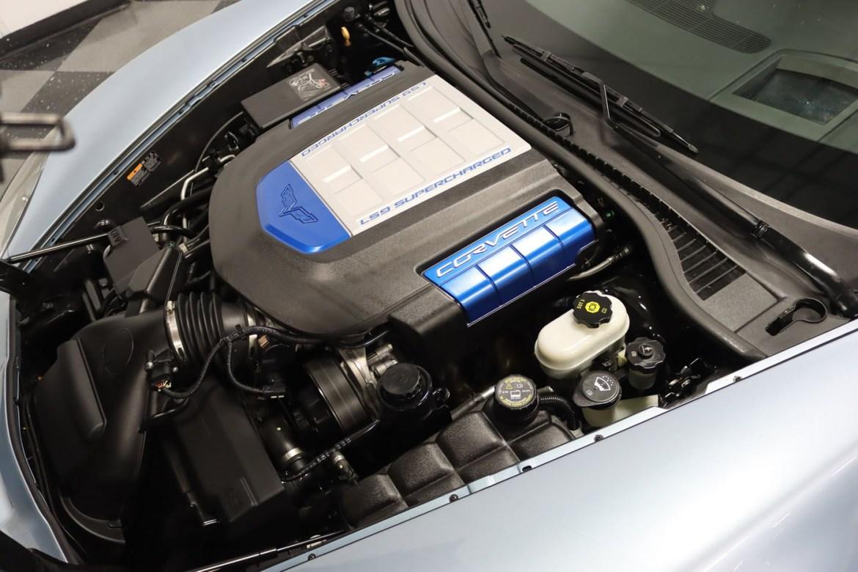 2012 Corvette ZR1 in Carlisle Blue Metallic - LS9 Engine