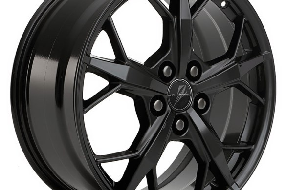 2021 Corvette Black Trident Wheel