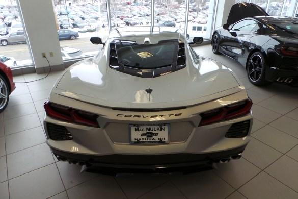 2021 Corvette Coupe in Silver Flare Metallic